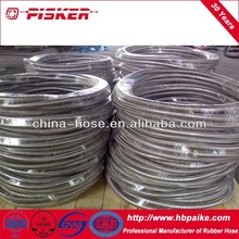 stainless steel braided high temperature smooth bore ptfe hose