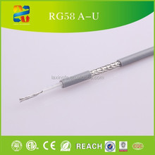 ROHS Approved, 50ohm Coaxial Cable RG58 Specifications