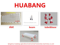 close side/farming/house chicken plastic slat flooring for poultry farm house