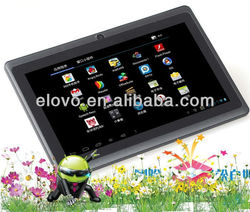 Buy direct from china factory 7 inch Q88 android tablet pc Allwinner A13 4GB