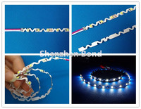 Can be laterally curved S shape 2835 SMD Flexible strip LED Lighting 12v non-waterproof 3 years warranty example of standardized