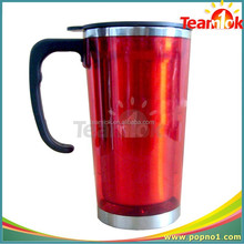 High Quality Sealed Double Wall Travel Mug With Photo Insert