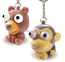 new design monkey shaped promotional keychain for gift