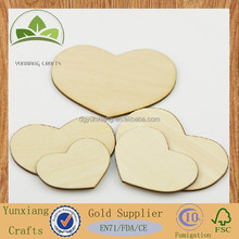laser cutting wooden pieces , wooden heart shape hanging tag