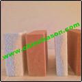 Ferramentas de limpeza doméstica de produtos da china verde pedra-pomes fabricante