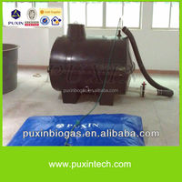 PUXIN 2m3 Portable Solar Digester, Food Waste Treatment Machine, Small Biogas Plant