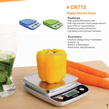 Household Scales Type 5kg digital multifunction electronic kitchen scales to weigh food