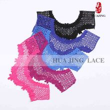Suppor Materials Tailored High Standard Black Lace Trim For Dress
