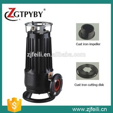 Sewage Pump with Cutting , submersible pump , air cooler water pump