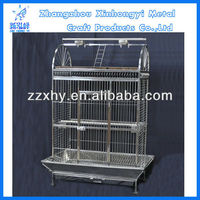 K/D Large stainless steel semi-circle playpen parrot cage