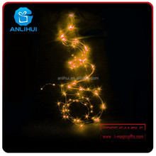 40W excellent motion sensor integrated all in one coloured solar lights string rattan led pull string lights