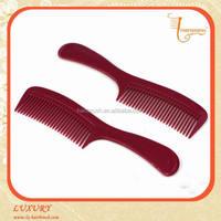 Professional plastic hair comb for hair salon