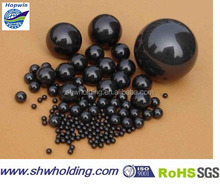 Silicon nitride ceramic ball and grinding ball for bearings
