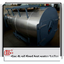 Hot sale gas & oil fired horizontal steam boiler for textile industry
