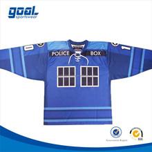 Customized made authentic wholesale 6xl korea hockey jersey