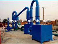Air Flow Wood Pellets Dryer Machine