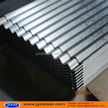 CGI corrugated galvanized zinc roof sheets/corrugated steel roofing sheet to Nepal