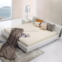 Wholesale Cheap top sell wood unique black cheap modern bed