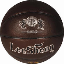 Rubber bladder High quality PVC leather basketball