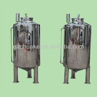 CHKE insulated water storage tank/stainless steel water tank manufacturer/pressure vessel water tank (SS 304 316)