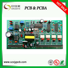 PCB Fabrication/Assembly with RoHS Marks, SMT Process and IC Programming