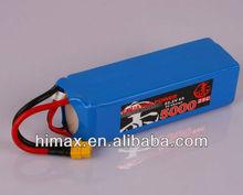 25C 3S 9.6V 2200mah RC battery