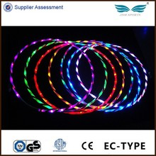 90CM LED hula hoop lights up hula hoops for health