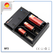 18650 AA AAA battery charger,3 bay 18650 Lithium Battery Charger,class 3 battery charger MF3