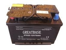 din standard lead acid dry automotive battery manufacturers 12V70ah DIN70 car battery dry for european vehicle