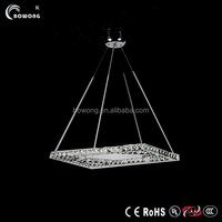 modern design newest pendant light, hot sell led crystal light,home crystal light
