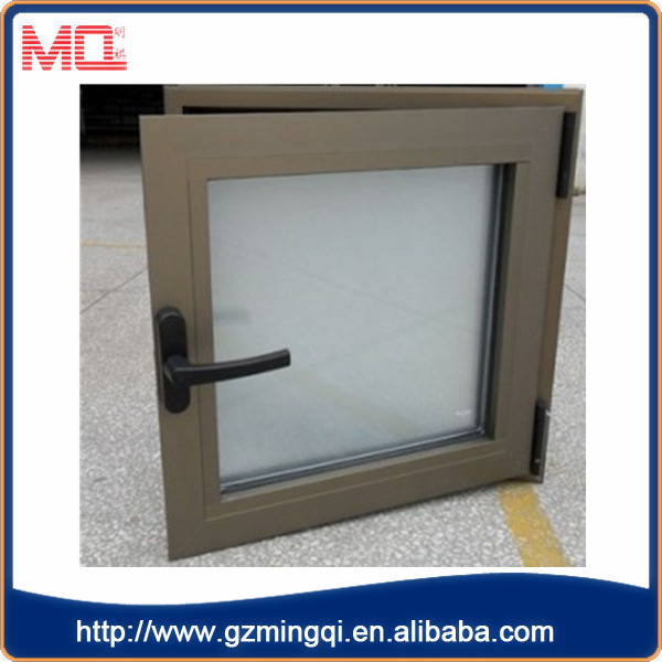 Cheap double glass designs casement window in the for Cheap window designs