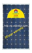 250W Mono Solar power system
