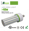 garden led outdoor lighting 360 degree epistar smd 2835 corn light 40W replace 400W incandescent / 120W CFL ul / ce rohs listed