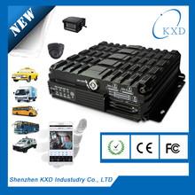 3g mobile DVR 128GB SD 4 camera taxi D1 system