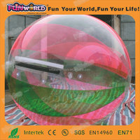PVC TPU material 2m big water ball for sale