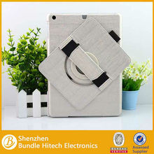 360 degree rotating case for iPad Air iPad 5 with Hand Strap