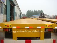 40ft Tri-axle Flatbed Semi Trailer