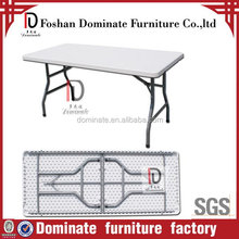 Quality new style portable plastic foldable table