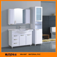 furniture bathroom francais PVC cabinet