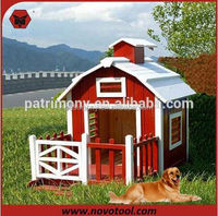 Cheap Wooden Dog Cage / Dog Kennel /dog house with porch