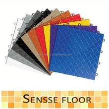 PP/PVC interlocking sports flooring for indoor/outdoor sports court