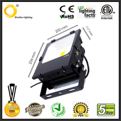70w with DLC hotest in 2015 flood light meanwell driver with Bridgulux/Philip chip