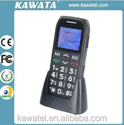 cordless gsm land dect phones for elderly people