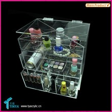 10 Years China Acrylic Manfacturer Top Gifts 2015 Cheap Plastic Storage Box Drawer
