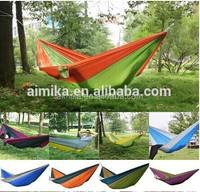 Outdoor portable camping Parachute Nylon Hammock