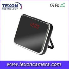 New Design Digital Clock Camera with Remote Control,120 Degree TE-303