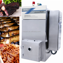 meat smoker for smoking animal sausage casings