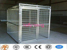 galvanized steel outdoor large dog backyard kennels factory