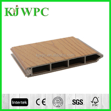 2015 new product construction building modern house wood plastic composite wpc garden house