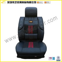 2015 Black Fashion Hot Sale High Quality New Design Wholesale Custom Leather Luxury Car Seat Cover